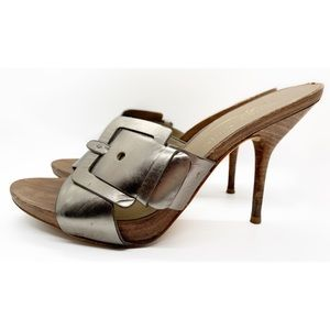 Donald J. Pliner Shoes - DONALD J PLINER ELAINE HIGH HEEL MULE SANDALS 7.5